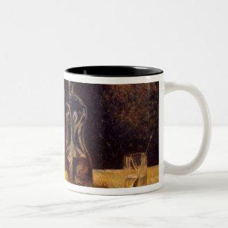 At the Window, 1882 Two-Tone Coffee Mug