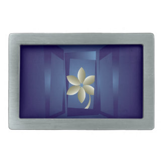 at the window rectangular belt buckles