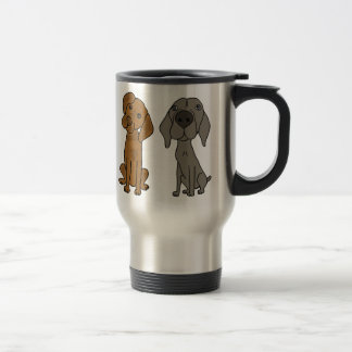 AT- Weimaraner and Pointer Travel Mug