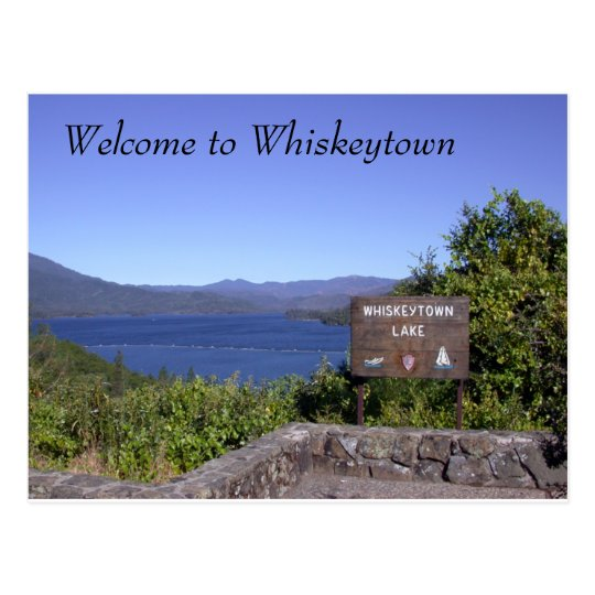 At Whiskeytown Lake Postcard