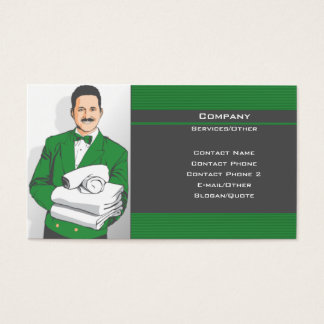 At Your Service Business Card