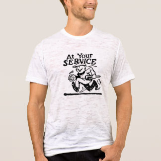 At Your Service Plumber T-Shirt