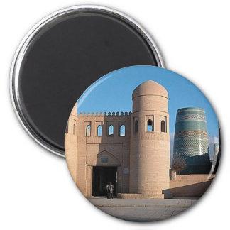 Ata Darvaza Gate 2 Inch Round Magnet
