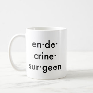 ATA Endocrine Surgeon Coffee Mug
