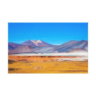 Atacama Salt Lake Canvas Print