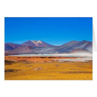 Atacama Salt Lake Card
