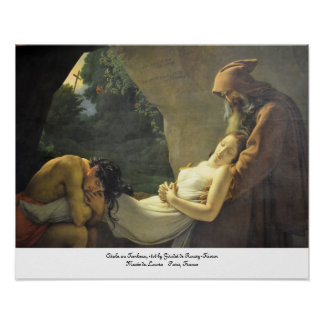 Atala au Tombeau--The Entombment of Atala Poster