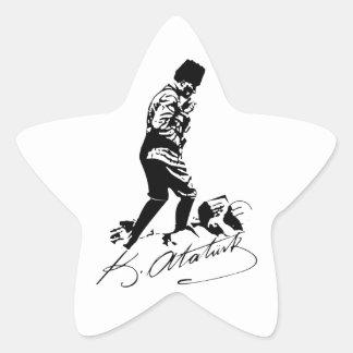 Ataturk Star Sticker