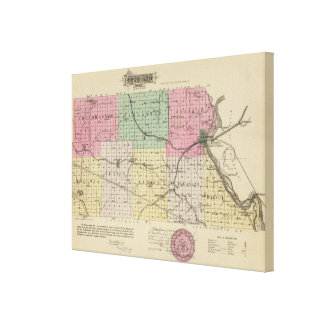 Atchison County, Kansas Stretched Canvas Print