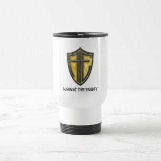 ATE Gold Shield Tumbler Travel Mug