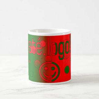 Até Logo! Portugal Flag Colors Pop Art Coffee Mug