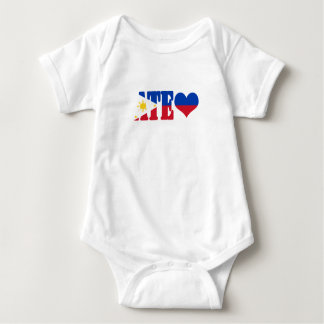 AteFlag02 Baby Bodysuit
