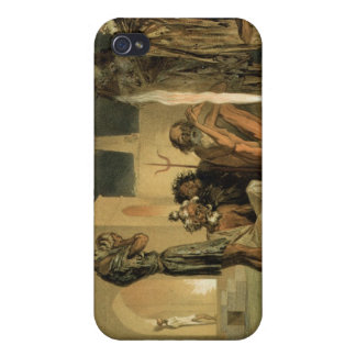 Ateseh-Gah, Indians Devoted to the Cult of Fire, B iPhone 4/4S Cover