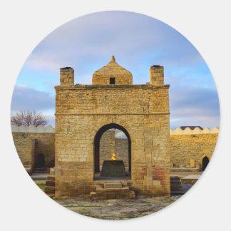 Ateshgah of Baku Classic Round Sticker