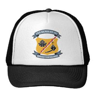 ATF-161 USS Salinan Military Patch Tug Insignia Trucker Hat
