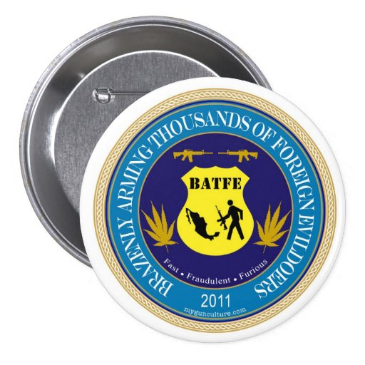 ATF / BATFE Spoof Logo button