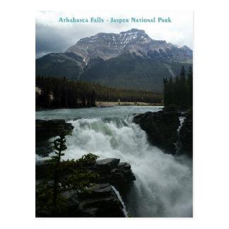 Athabasca Falls Jasper National Park Postcard