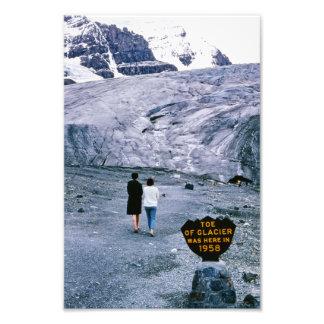 Athabasca Glacier Columbia Icefield Alberta Canada Photo Print