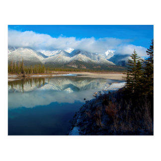 Athabasca River, Jasper National Park, Alberta Postcard