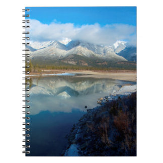 Athabasca River, Jasper National Park, Alberta Spiral Note Book