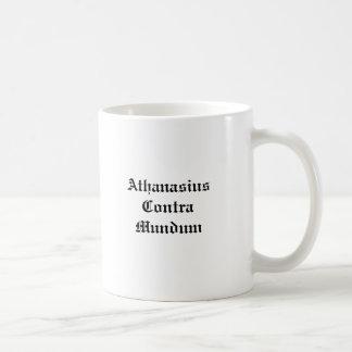 Athanasius Contra Mundum Coffee Mug