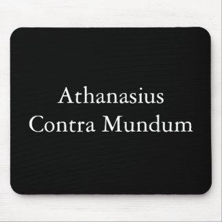 Athanasius Contra Mundum Mouse Pad