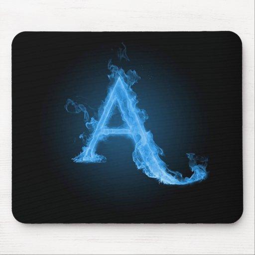Athée bleu A Tapis De Souris