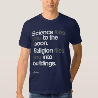 Athée - la Science vole à la lune T-shirt