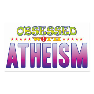 Atheism 2 Obsessed Pack Of Standard Business Cards