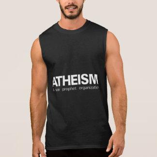 Atheism a non prophet organization sleeveless shirt
