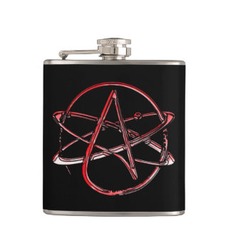 Atheism for All! Hip Flask
