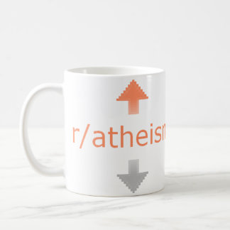 Atheism Upvote Coffee Mug