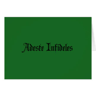 Atheist/agnostic/freethought holiday greetings card