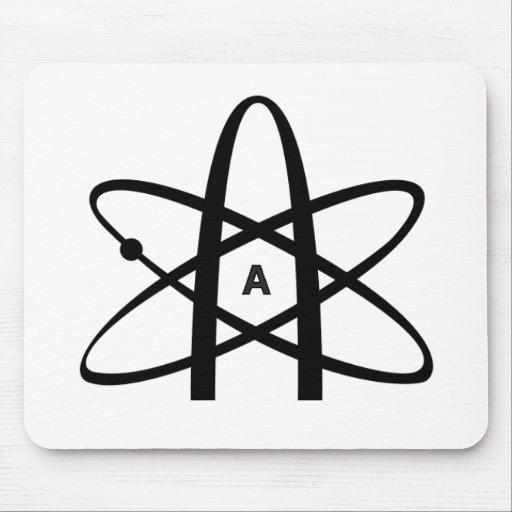 Atheist Atom Mousepads