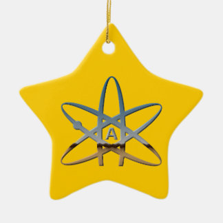 Atheist Atom Star Ornament