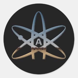 "Atheist ""Atom"" Stickers"