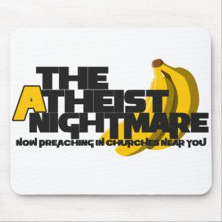 Atheist Banana Mouse Pad