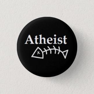 Atheist Dead Fish 1 Inch Round Button