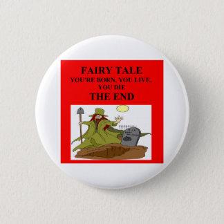 atheist fairy tale 2 inch round button