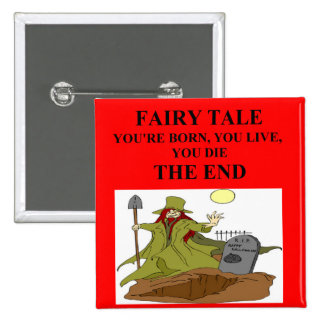 atheist fairy tale pinback buttons