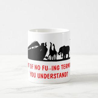 Atheist humor coffee mug