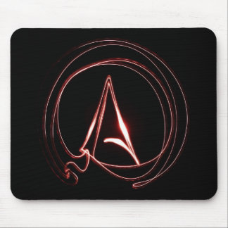 Atheist in Red Mouse Pad