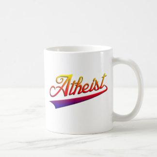 Atheist Orange Swash Coffee Mug