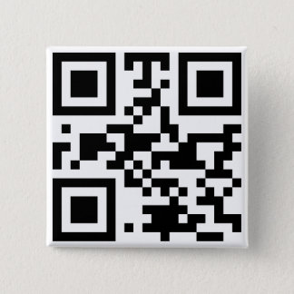 """ATHEIST"" QR code 2 Inch Square Button"