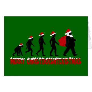 Atheist Santa Claus Greeting Card