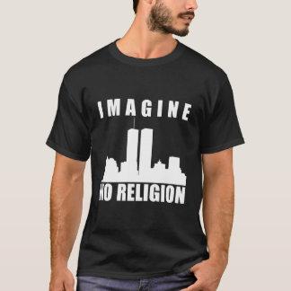 Atheist shirt. Imagine no religion T-Shirt