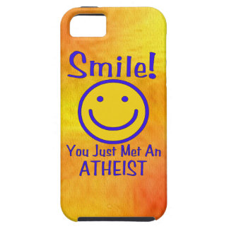 Atheist Smiley Case For The iPhone 5