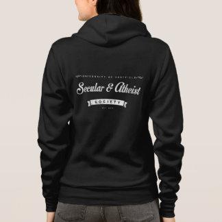 Atheist Society Ladies Hoodie