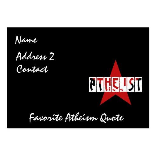 Atheist Star Business Card