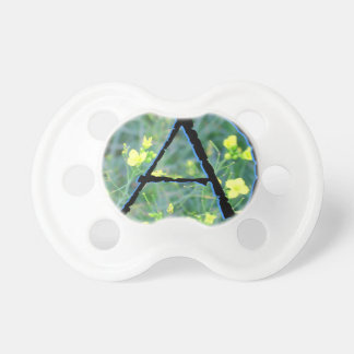 Atheist Symbol Baby Pacifiers